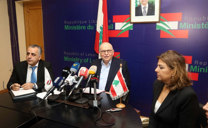 Press Conference for Minister Ahmad Kabarra