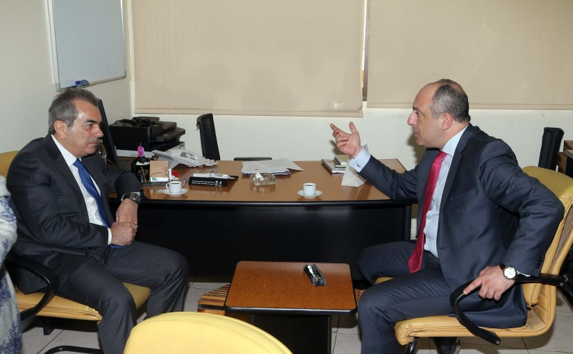 Minister Pierre Abi Assi Visits the United Nation Center At Shiyeh