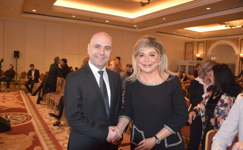 Minister Ghassan Hassbani Attends May Chidiac Foundation Conference
