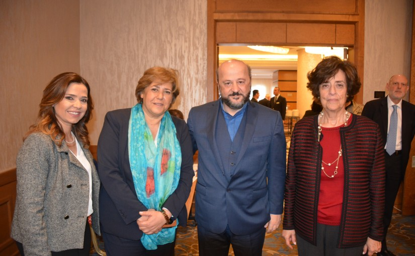 Lecture for Minister Melhem Riachi at Gefinor Rotana