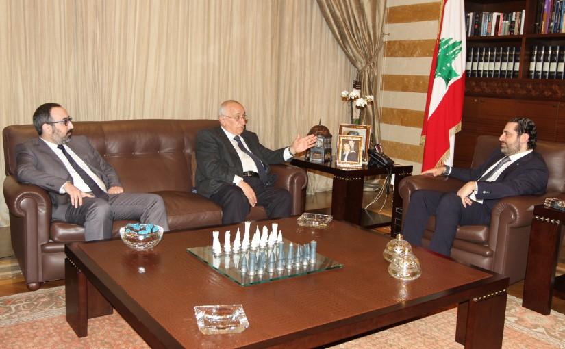 Pr Minister Saad Hariri meets Riyadh Keraoui