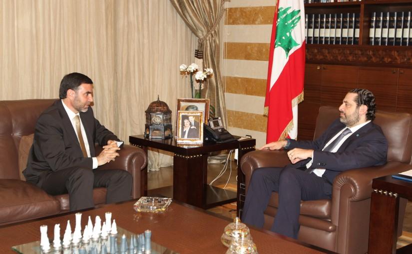 Pr Minister Saad Hariri meets Sheikh Ali Janani