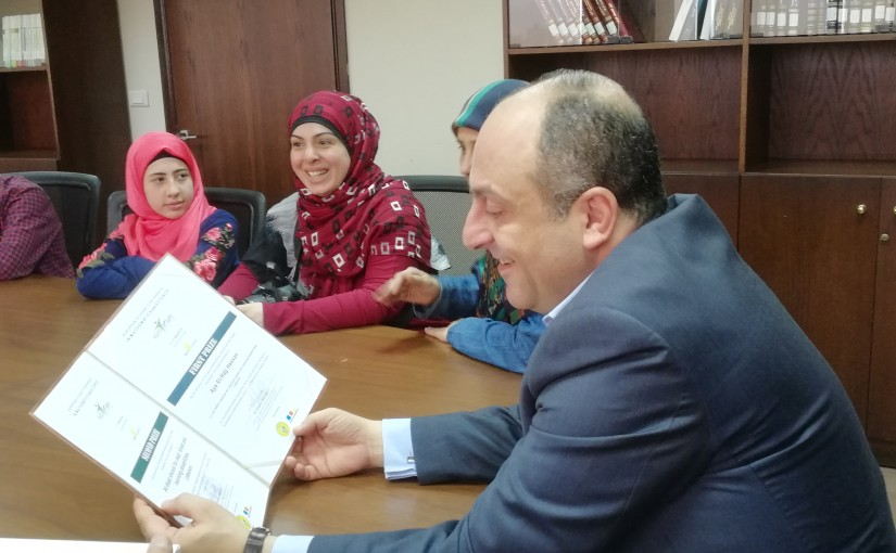 Minister Pierre Abi Assi meets a Delegation from Euro Math