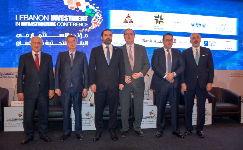 Pr Minister Saad Hariri Attends a Conference at Four Season Hotel