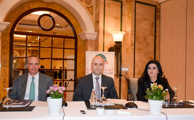 Minister Ghassan Hassbani Attends a Conference at Pheonicia Hotel
