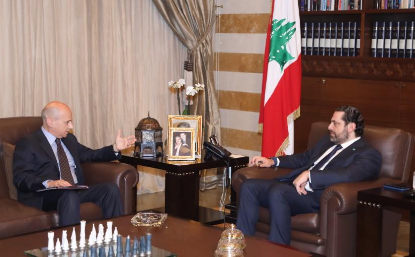 Pr. minister Saad Hariri meet Italian ambassador