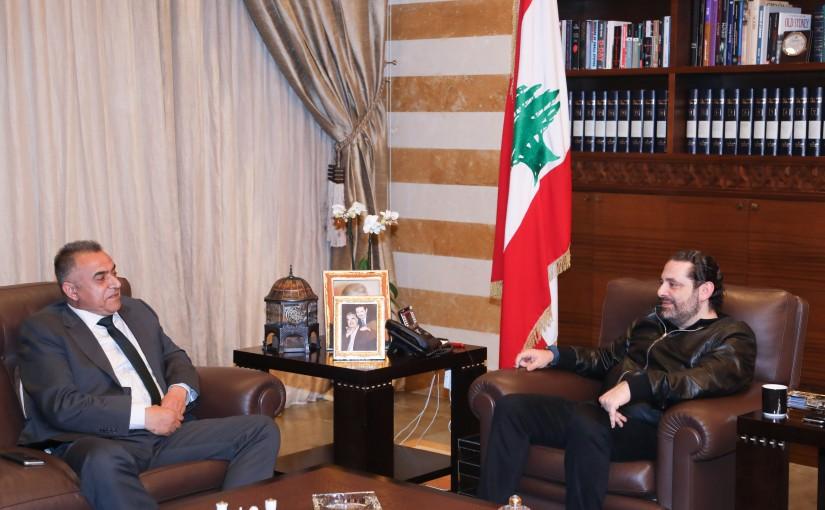 Pr Minister Saad Hariri meets Mr Ali Assad