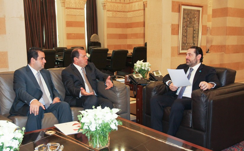 Pr Minister Saad Hariri meets Mr Tony el Rami