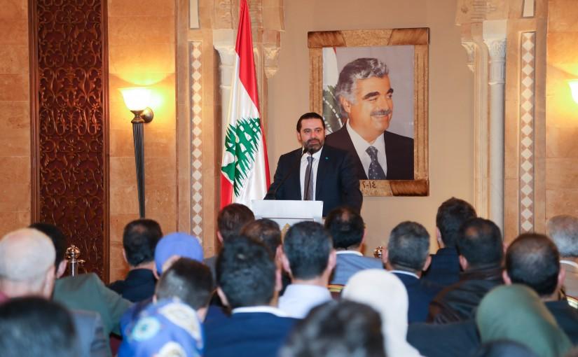 Pr Minister Saad Hariri meets a Delegation from Akkar Families