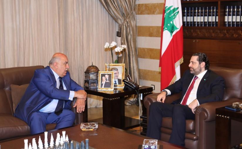 Pr Minister Saad Hariri meets Mr Radwan Alam el Dine
