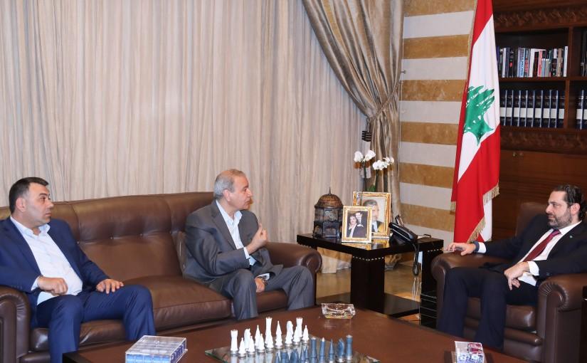 Pr Minister Saad Hariri meets Mr Othman Alameldine