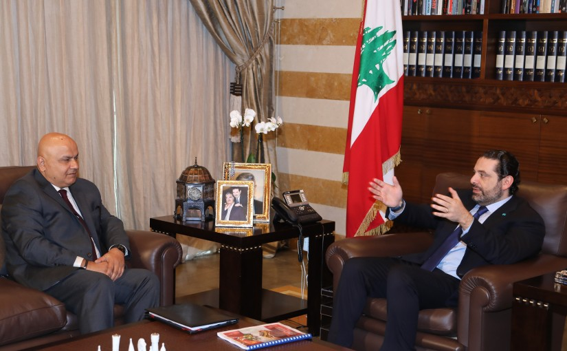 Pr Minister Saad Hariri meets a Delegation from World Bank