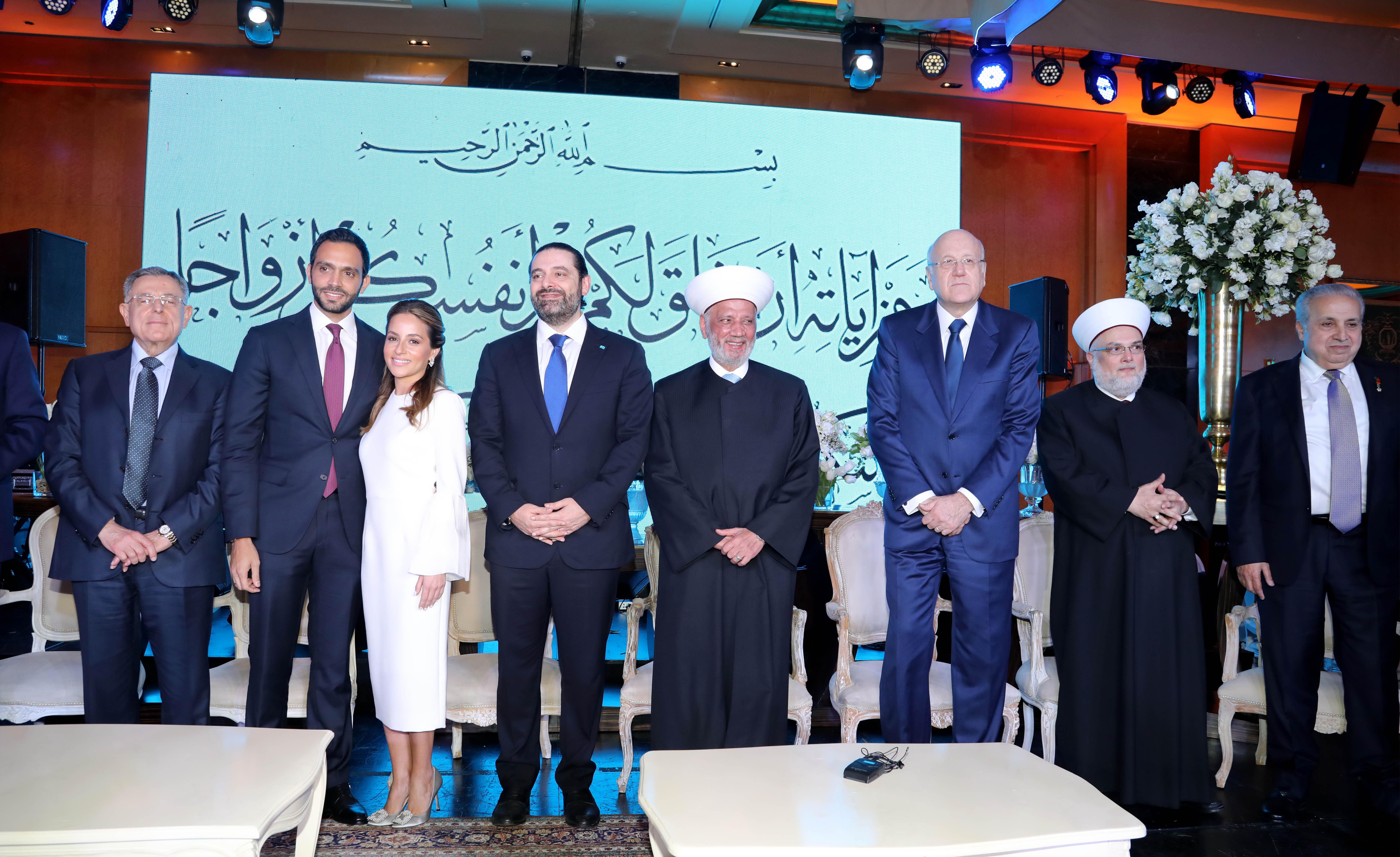 Pr Minister Saad Hariri Honors Mr Ahmad el Barghout 2