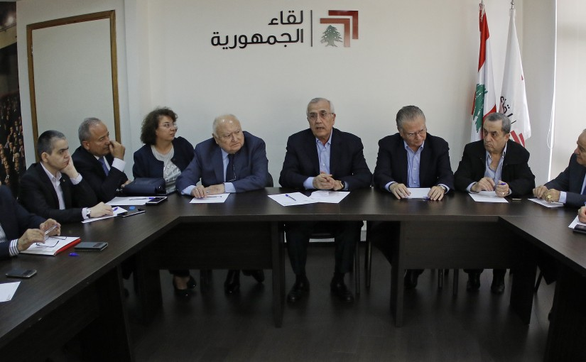 Former Pr Michel Sleiman Heading Public Gatherings