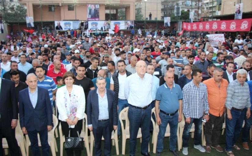 Festival for Former Pr Minister Najib Mikati at el Kebeh Tripoly