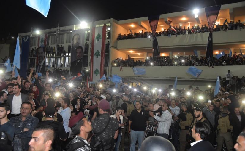 Pr Minister Saad Hariri Visits Fnaydik