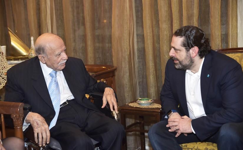Pr Minister Saad Hariri Visits Mr Sami el Khatib