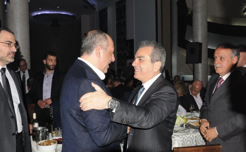 Diner Hosted by Chiyah Families in Honors of Minister Pierre Abou Assi