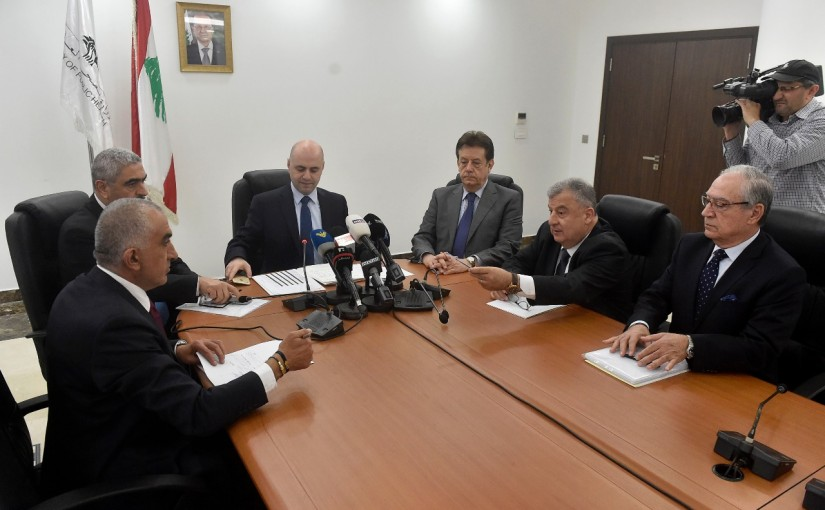 Press Conference for Minister Ghassan Hassbani