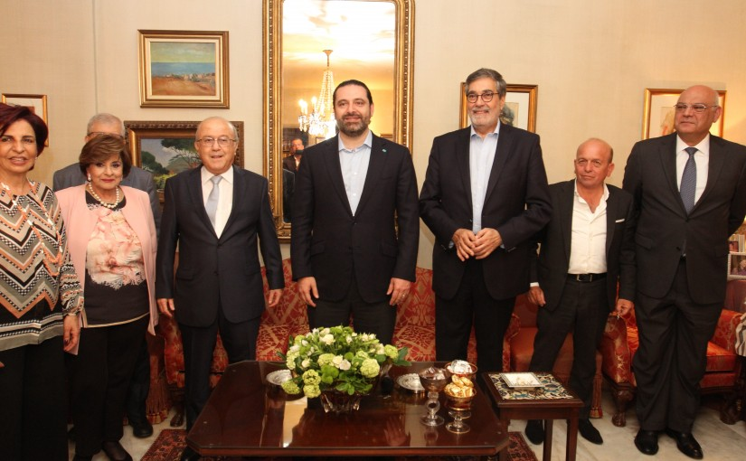 Diner Hosted by MP Mouhamad Kabani in Honors of Pr Minister Saad Hariri