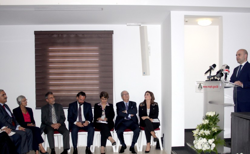 Minister Ghassan Hassbani Inaugurates a Section at the Ministry of Health