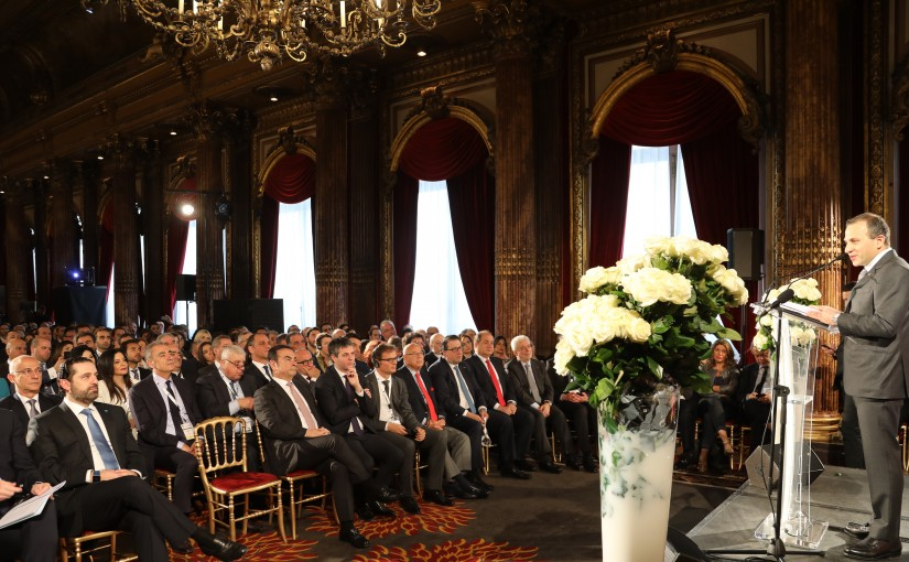 Pr Minister Saad Hariri Attends the LDE Conference in Paris