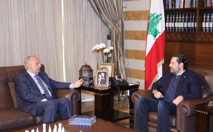 Pr Minister Saad Hariri meets MP Mouhamad Safadi