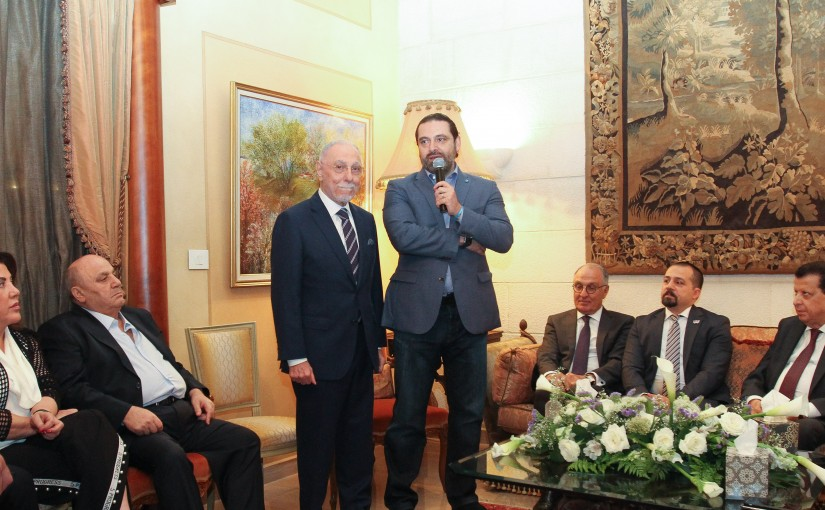Tour for Pr Minister Saad Hariri in Beirut