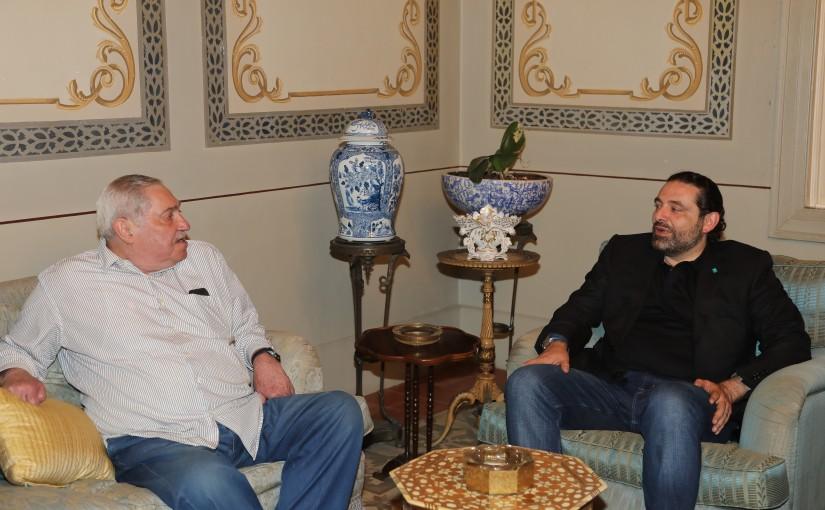 Festival for Pr Minister Saad Hariri meets MP Ahmad Karame