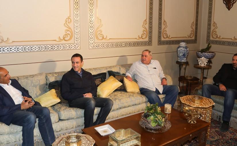Pr Minister Saad Hariri meets MP Ahmad Karameh