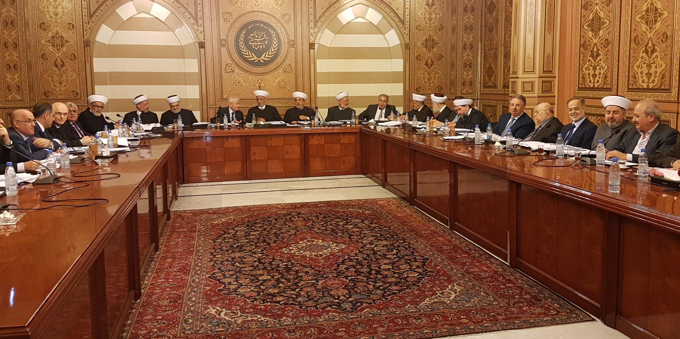 المفتي دريان يترأس اجتماعا للمجلس الشرعي 12-5-2018