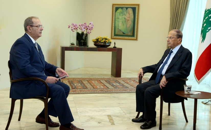 Interview for President Michel Aoun at BBC