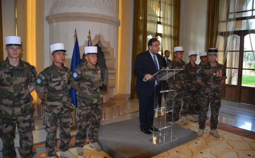 French Ambassador Celebrates the World War 2 Day