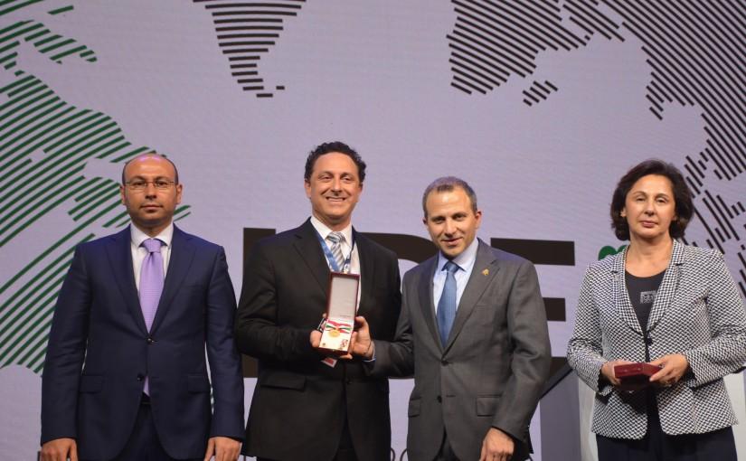 Minister Gebran Bassil at LDE 2018