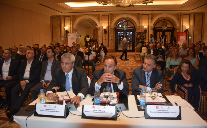 Lecture for Minister of Telecommunications at Phoenician Hotel