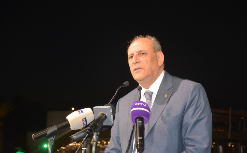 Iftar Hosted by Minister Jamal Jarrah in Honor's of Lebanese Press