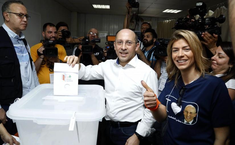 MP Alain Aoun Elects in Haret Hreik