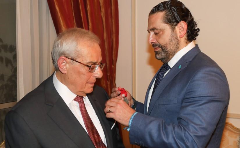 Pr Minister Saad Hariri Visits el Zaidan Family