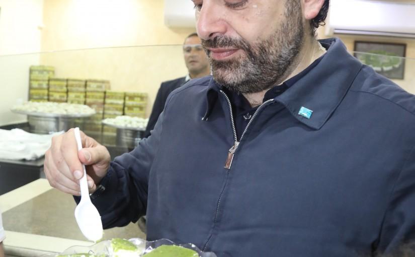 Pr Minister Saad Hariri Visits el Daouk Sweet