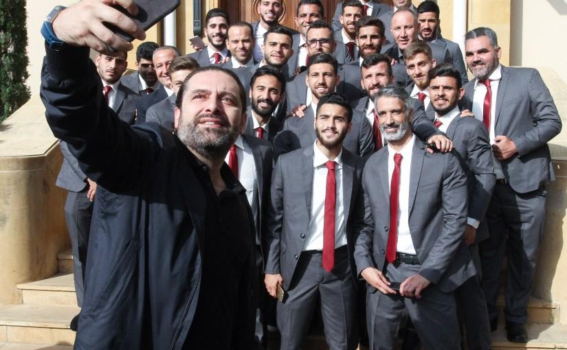 Pr Minister Saad Hariri meets a Delegation from el Nejme Club