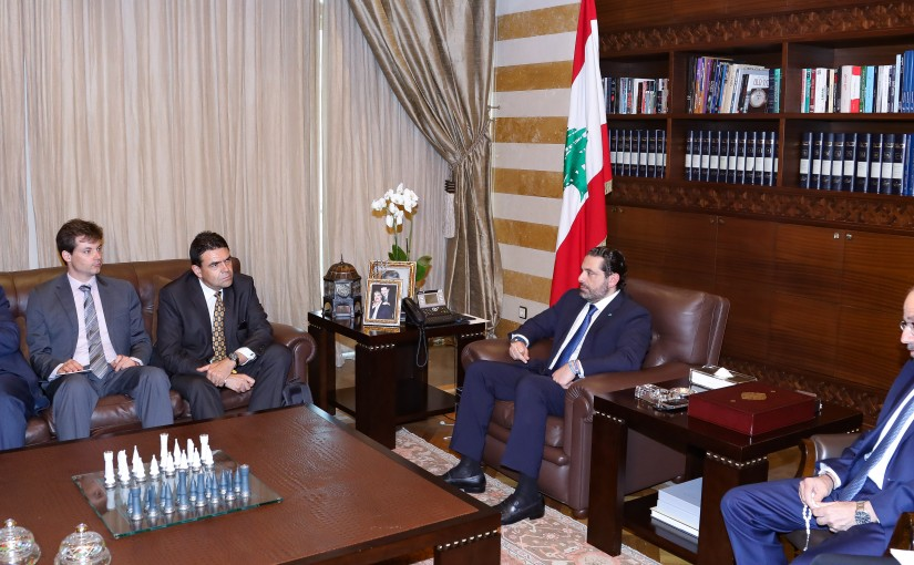 Pr Minister Saad Hariri meets French Delegation