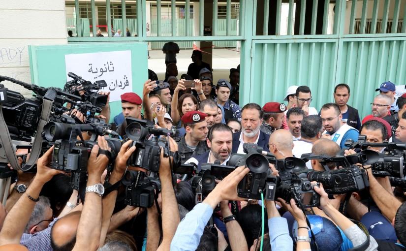 Pr Minister Saad Hariri Elects in Beirut