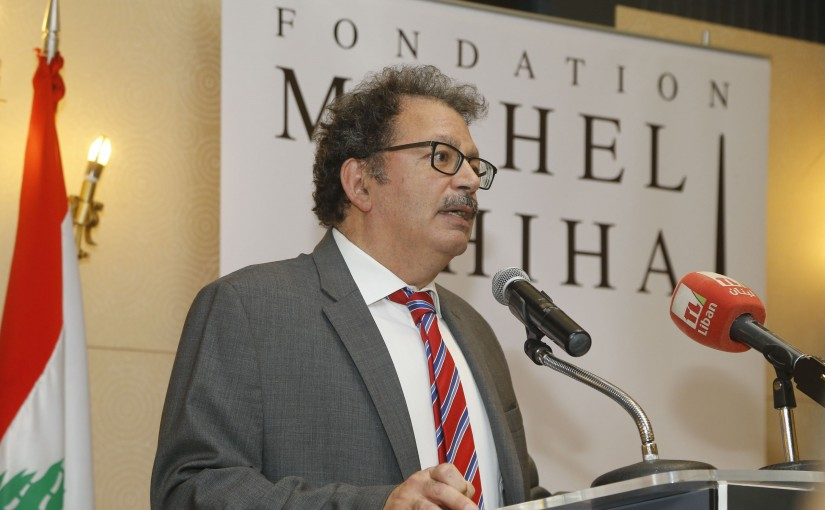 Michel Chiha Foundation Rewards at Bristol Hotel(Mr Chebli el Malat)