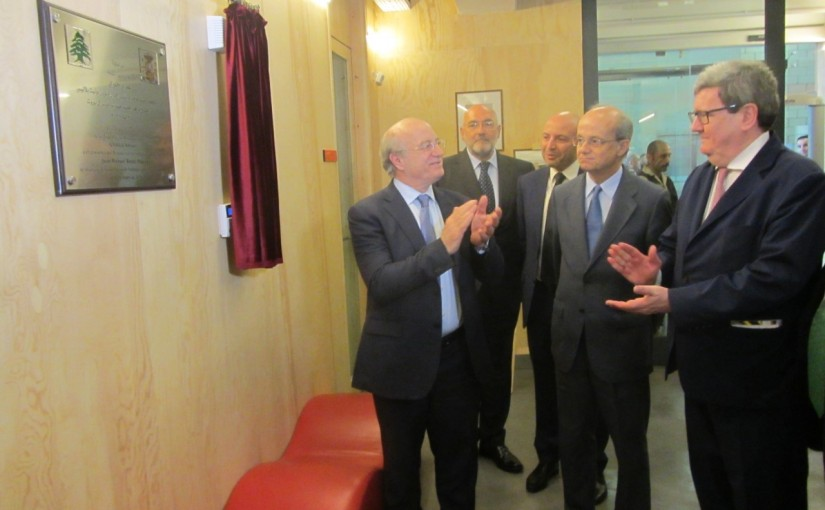 Minister Ghattas Khoury Inaugurates a Spanish Culture Fair