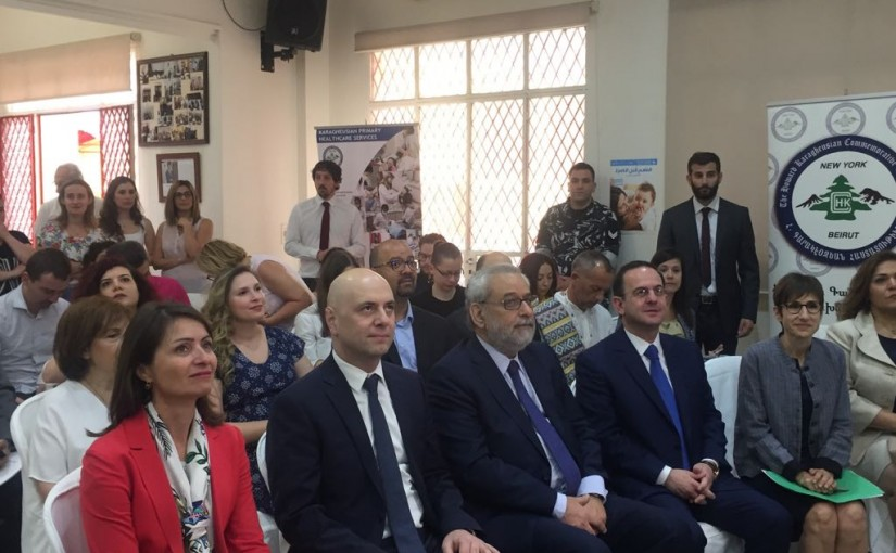 European Union Launches Two Projects In Support of Health Sector in Lebanon