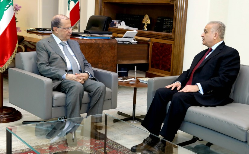 President Michel Aoun meets Dr. Mohamed Ali Alhakim