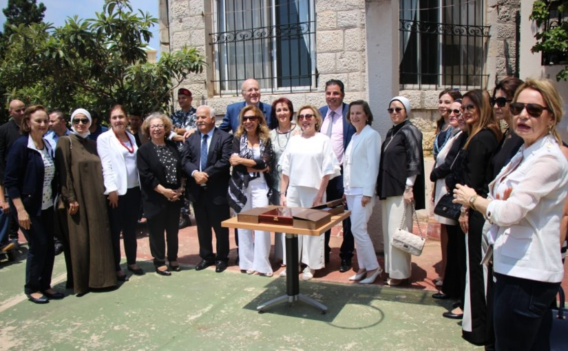 Former Pr Minister Najib Mikati Visits the Lebanon Development Gathering
