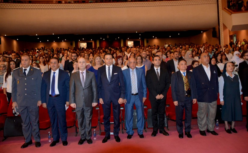 Minister Ghassan Hasbani Hands out Certificates at The UNESCO