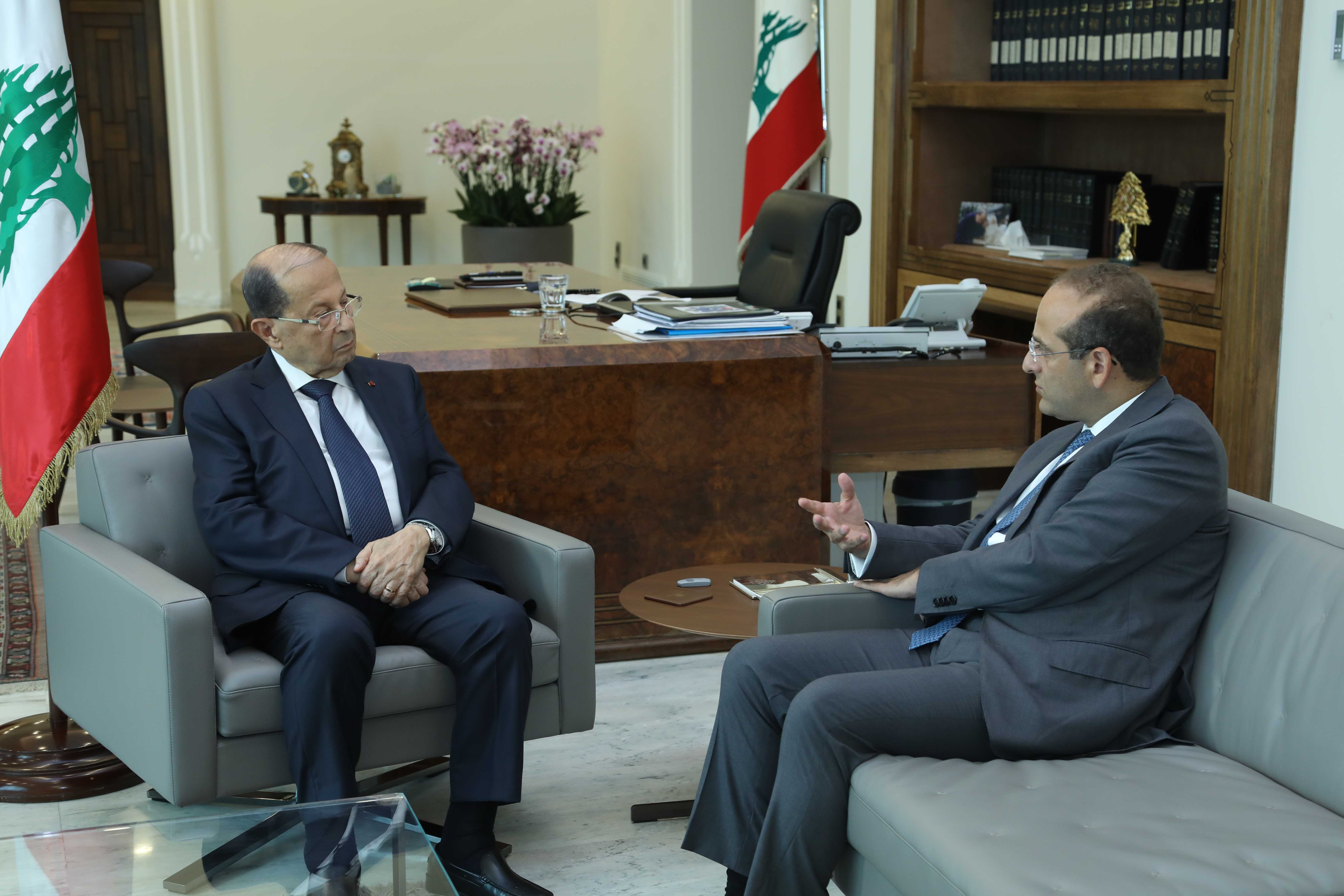 MINISTER RAED KHOURY