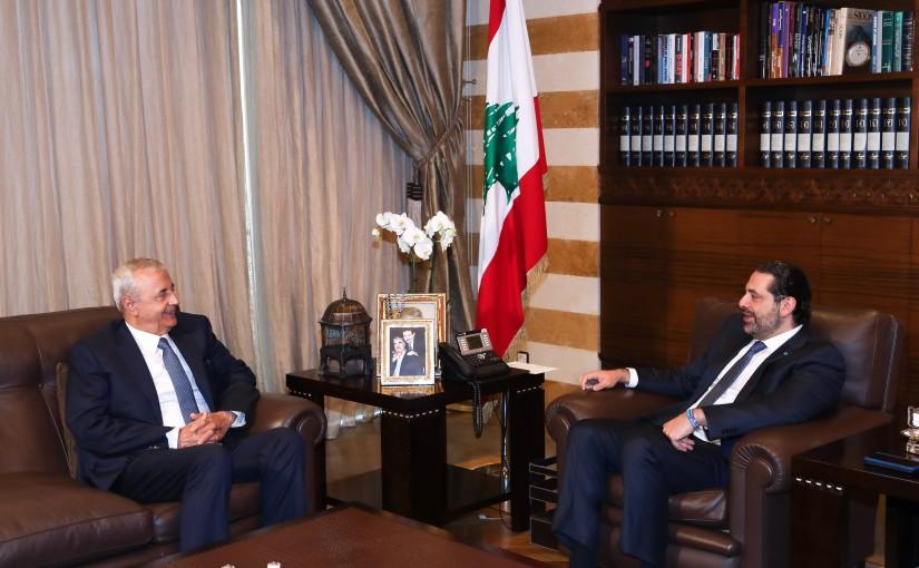 Pr Minister Saad Hariri meets Mr Ibrahim Bassbouss
